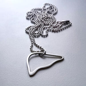 Life Silver liverand bullet chain