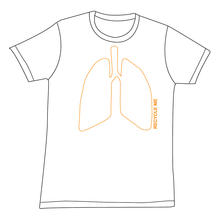 Lung t-shirt White Unisex Stockholm print
